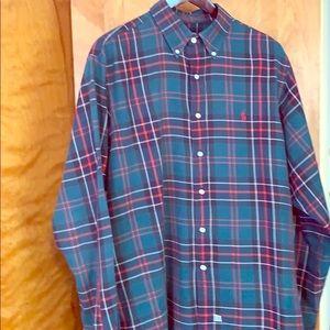 Polo Ralph Lauren plaid LS BD shirt